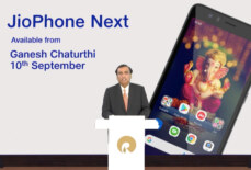 JioPhone Next With Optimised Android