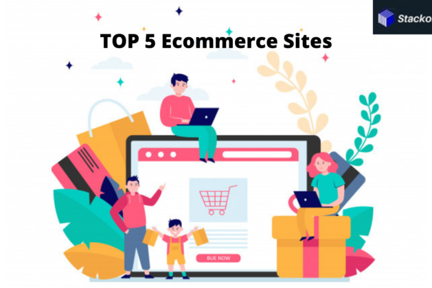 Top 5 Ecommerce Sites in India 2021